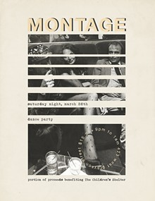 INVITE CREATED BY HAUS COLLECTIVE - MONTAGE DANCE PARTY