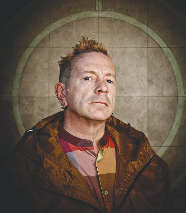 Never mind the Sex Pistols, here's John Lydon. - COURTESY PHOTO