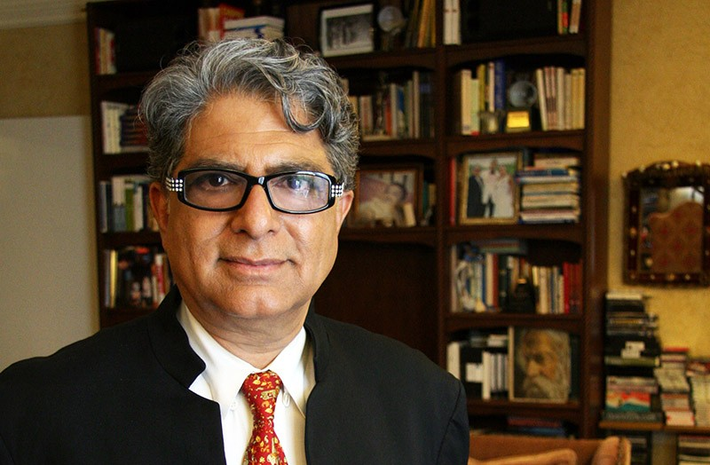 New Age spiritualist Deepak Chopra will speak at the Tobin next week. - COURTESY