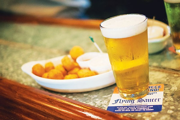 New Belgium Sunshine Wheat and Rocket Tots - JOSH HUSKIN