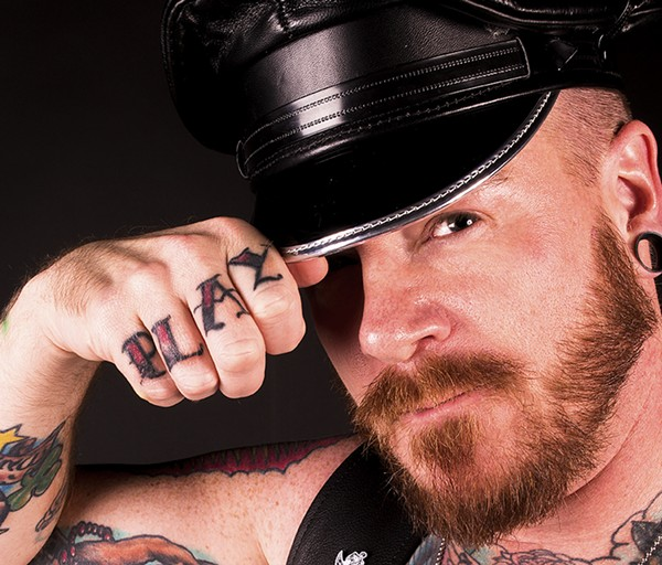 Steven Parker, master of the Alamo City Leather and Fetish Weekend. - COURTESY