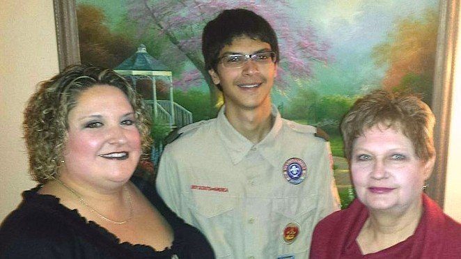 Adella Freeman says she was kicked out of her son's Boy Scout troop because of her sexual orientation. - ADELLA FREEMAN