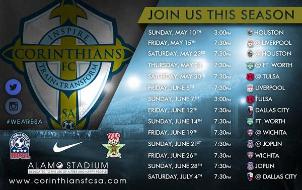 CORINTHIANS FC OF SAN ANTONIO