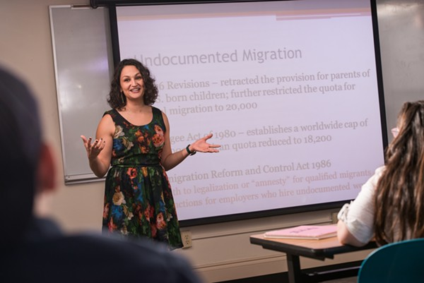 Prof. Aimee Villarreal is tasked with reviving OLLU's Mexican American Studies program. - OUR LADY OF THE LAKE UNIVERSITY