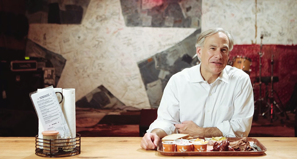 Gov. Greg Abbott is so very wrong when it comes to Texas barbecue - INDEPENDENT JOURNAL REVIEW