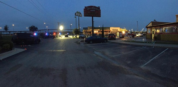 The morning after a massive biker brawl in Waco on Sunday that left nine dead and 18 injured. - WACO POLICE DEPARTMENT
