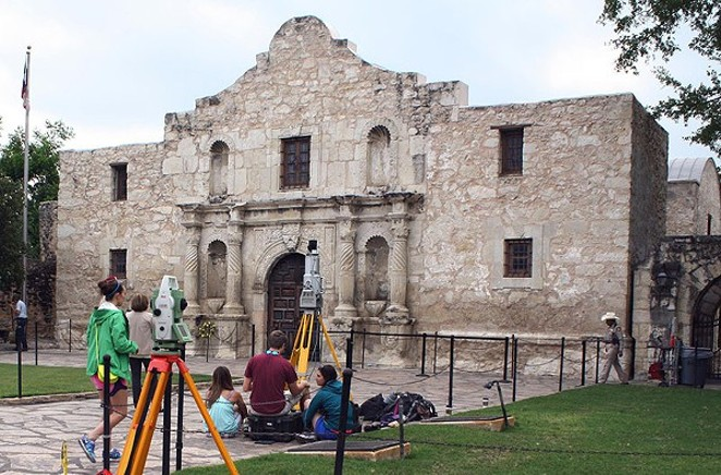 The Alamo set to receive some much-needed restoration funding. - TEXAS A&M