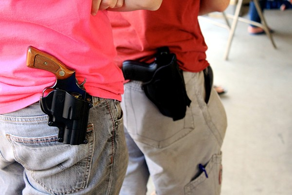 Now you can bring your gun to college for show-and-tell sessions. - WIKIMEDIA
