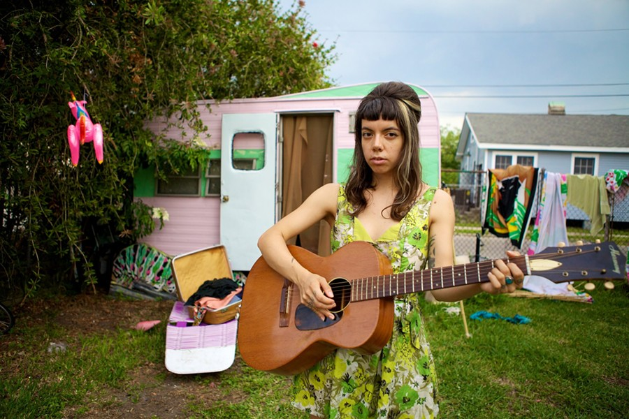 Hurray for the Riff Raff's Alynda Lee Segarra - COURTESY
