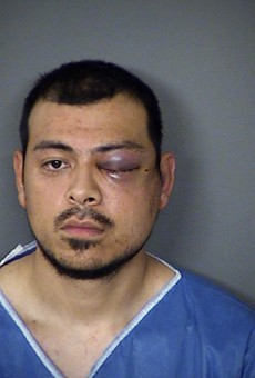 San Antonio police arrested 27-year-old Jesse Cervantes Jr. Monday morning on allegations he stabbed a pregnant woman.