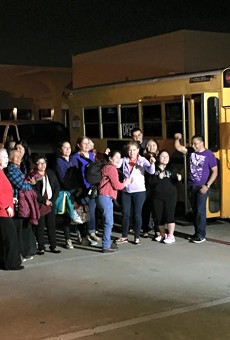 Texas Organizing Project members from Dallas boarded a bus last night and arrived in New Orleans in time for a federal appeals court hearing over President Barack Obama's executive immigration orders.