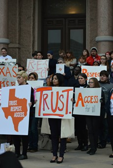 "Texas just came up with special ""abortion insurance."""