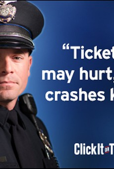 """It's Back: State """"Click It Or Ticket"""" Crackdown Underway"""