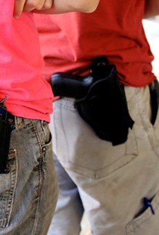 Now you can bring your gun to college for show-and-tell sessions.