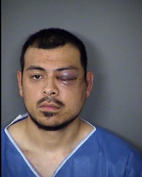 San Antonio police arrested 27-year-old Jesse Cervantes Jr. Monday morning on allegations he stabbed a pregnant woman. - JESSE CERVANTES JR