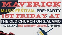Maverick Music Festival Announces Pre-Party at Old Church on S. Alamo