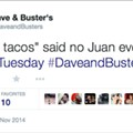 What the Hell, Dave and Buster's?