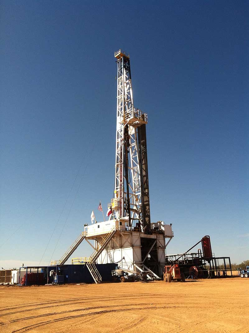 Nomac Drilling rig in the Eagle Ford Shale - COURTESY