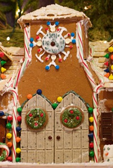 Okay, maybe this gingerbread house is a little too advanced for children...