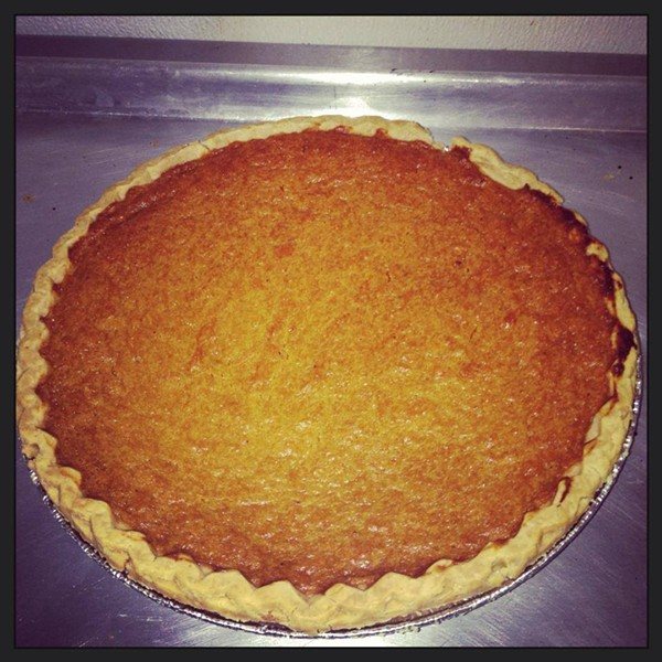 Organic sweet potato pie - COURTESY