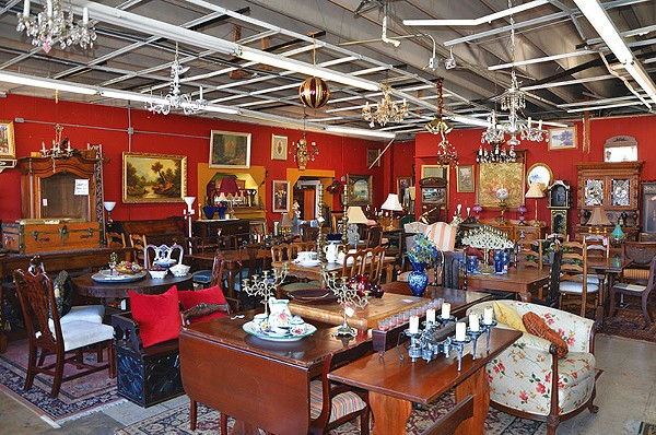 Owner Carmen Morin fills Lasting Impressions Antiques with all eras of furniture and décor. - FILE PHOTO