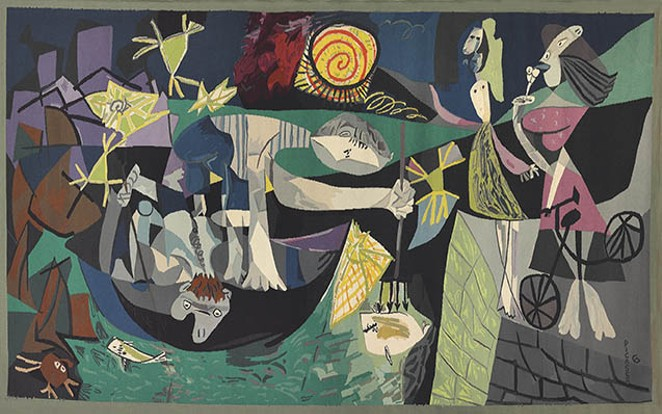 """Pablo Picasso, """"Night Fishing at Antibes"""" (1939) - COURTESY"""