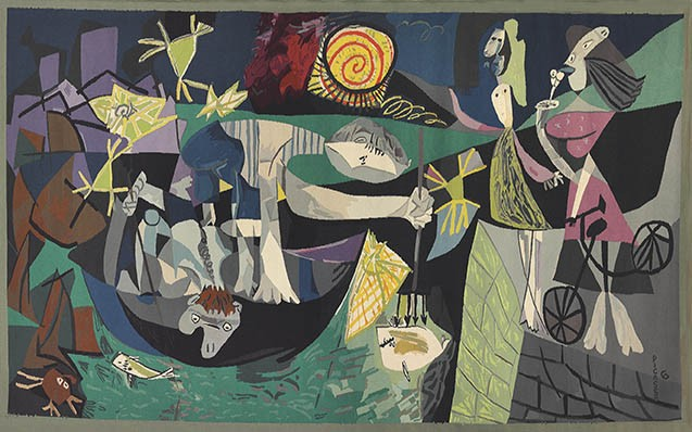 "Pablo Picasso, ""Night Fishing at Antibes"" (1939) - COURTESY"
