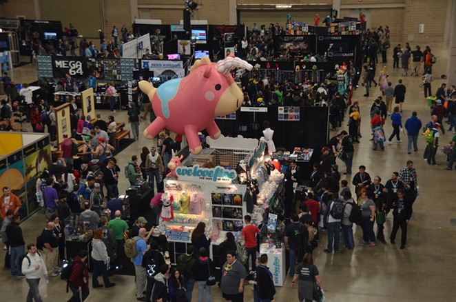 PAX South took over the Henry B. Gonzalez Convention Center this weekend. - KEVIN FEMMEL
