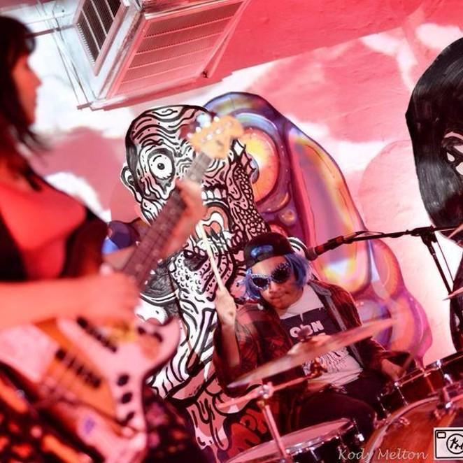 SA garage quartet The Oblio's in action - KODY MELTON