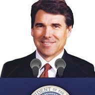 Perry For President? Let's Hope Not