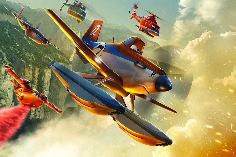 Planes, Fire & Rescue - COURTESY