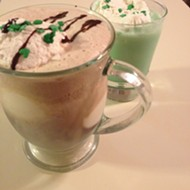 Preparing for St. Paddy's Day with Guinness floats