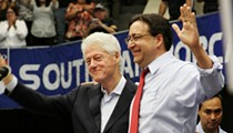 President Clinton stumps for Gallego at South San