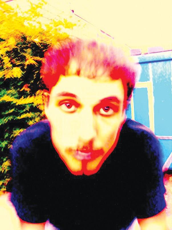 Producer Bryan Hamilton gets psychedelic. - COURTESY PHOTO