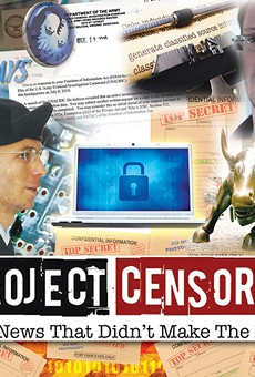 Project Censored: 10 stories the media neglected this year