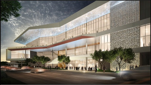 Proposed north entry redesign for the Henry B. Gonzalez Convention Center - COURTESY PHOTO