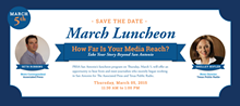 PRSA Luncheon -How Far is Your Media Reach?