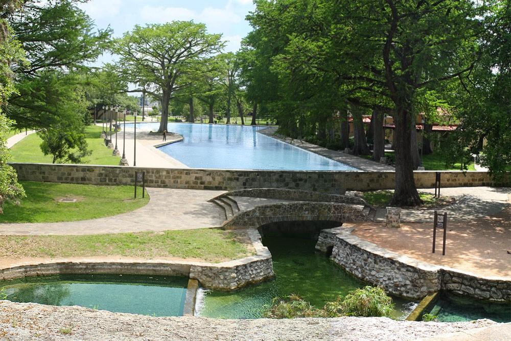 Public Swimming Pool Around Town San Antonio