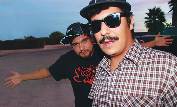 Puro Chisme: Progeny (left) and R.e.L. — less rap, more music. - COURTESY PHOTO