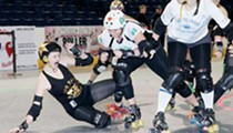 Puro pinche roller derby action arrives Sunday! SUNDAY! Sunday! in San Antonio