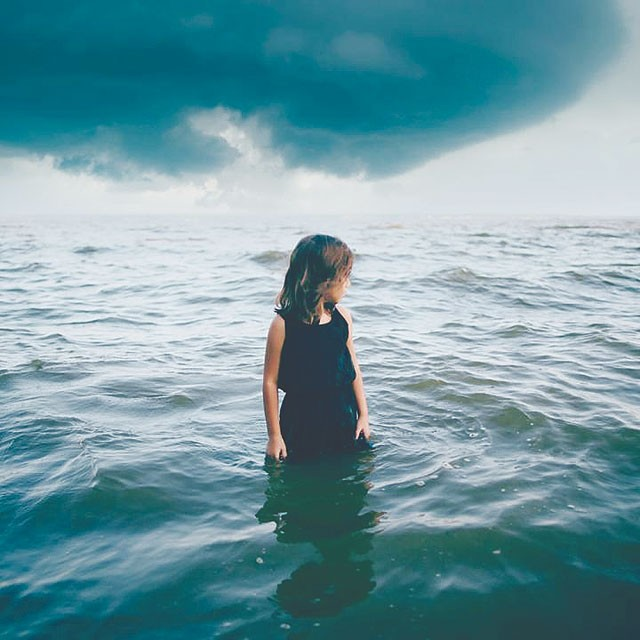 'Quiet Before the Storm' by Niki Aguirre. - NIKI AGUIRRE