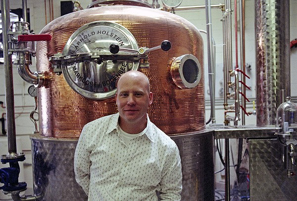 Ranger Creek's head distiller, T.J. Miller. - COURTESY