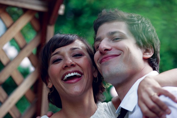 Rashida Jones loves/hates Andy Samberg in Celeste and Jesse Forever. - COURTESY PHOTO