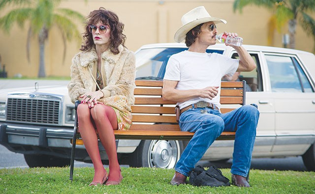 Rayon (Jared Leto) is not exactly thrilled with Ron (Matthew McConaughey) either. - COURTESY PHOTO