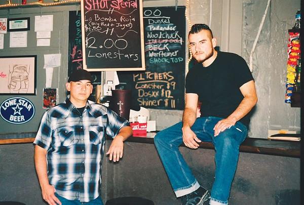 Ready to serve you: Miguel and Danny Delgado at Hi-Tones. - BRYAN RINDFUSS