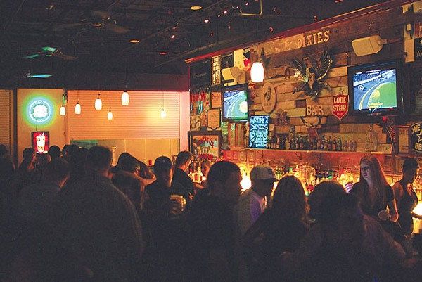 Regulars and newcomers packed the bar for Friday's grand opening. - SARAH MASPERO