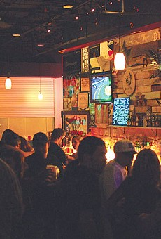 Regulars and newcomers packed the bar for Friday's grand opening.