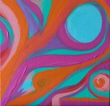 ARTIST: TINA KARAGULIAN - Remoulade, Acrylic Medium