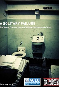 A new study from the ACLU and Texas Civil Rights Project concludes Texas overuses solitary confinement as a form of punishment for prisoners.