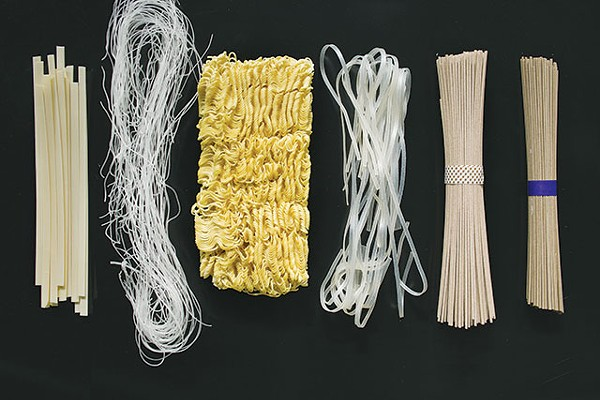 Rice or wheat, flat or round; Asian noodles go way beyond ramen - DONTÉ GRIFFIN